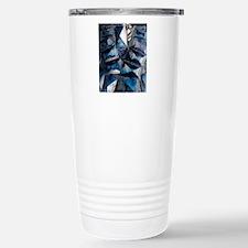 Fayalite crystals Thermos Mug