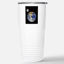 Earth and moon Travel Mug