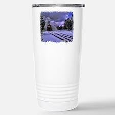 Snow Train Travel Mug