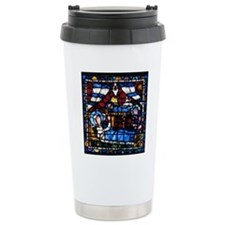 Stained glass window fr Thermos Mug