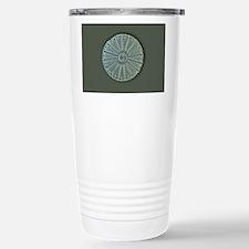 Diatom, light micrograp Stainless Steel Travel Mug