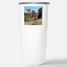 Deinonychus dinosaur Travel Mug