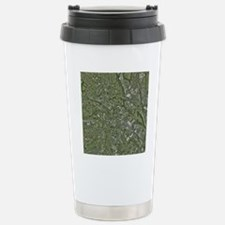 Derby, UK, aerial image Travel Mug