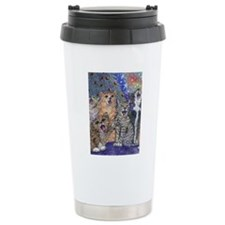 Meowy Christmas Travel Mug