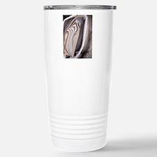 Banded flintstone Stainless Steel Travel Mug