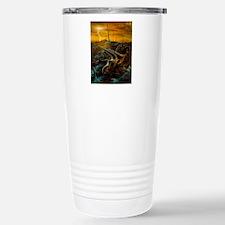 Artwork of the death of Travel Mug