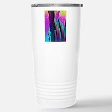 Caffeine crystals, ligh Stainless Steel Travel Mug