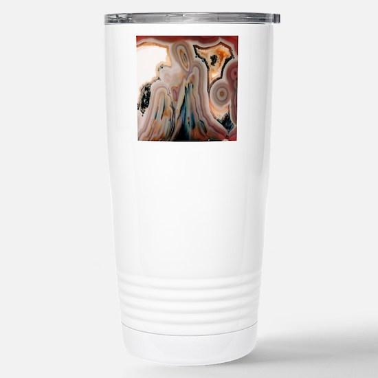 Agate slice Stainless Steel Travel Mug