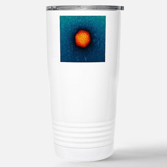 Adenovirus particle, TE Stainless Steel Travel Mug
