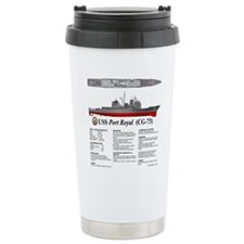 USS Port Royal CG-73 Travel Mug