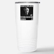 Oliver Wendell Holmes Stainless Steel Travel Mug