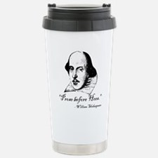 Prose Before Hoes - Shakespeare Quote Travel Mug