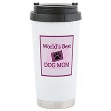 World's Best Dog Mom Travel Mug