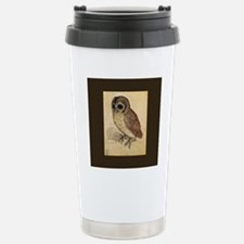 Durer Owl Stainless Steel Travel Mug