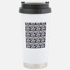 bernese Mtn dog shower  Travel Mug