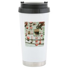 Bisbee Red Art Wall Sho Travel Mug