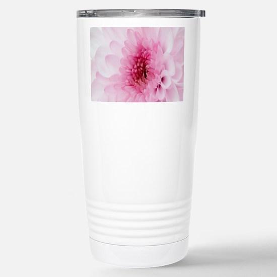 Floral Stainless Steel Travel Mug