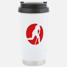 female hockey player Travel Mug