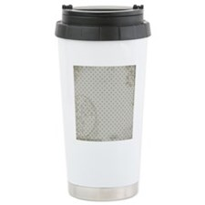 Distressed dots Travel Mug