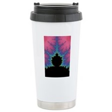 Vertical Mandlebrot Set Travel Mug
