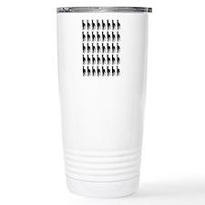 Great Dane Silhouette F Travel Mug