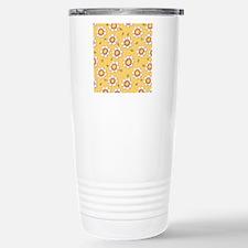 Daisy Joy yellow daisie Travel Mug
