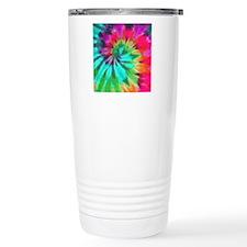 Tie Dye Travel Coffee Mug