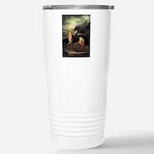 Francisco Goya Portrait Stainless Steel Travel Mug