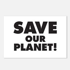 Save our Planet! Postcards (Package of 8)
