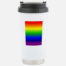 Rainbow Ombre Travel Mug
