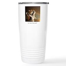 Titanic Cats Travel Mug