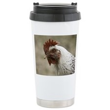 The Head Of A Rooster Travel Mug