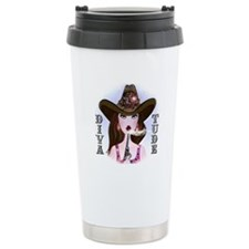 Diva of a Cowgirl Travel Mug