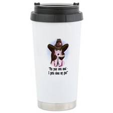 Diva of a Cowgirl Travel Coffee Mug
