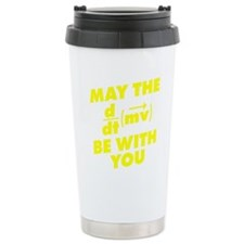 May The Force Be With Y Travel Mug