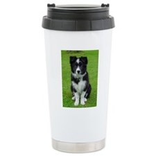 Collie puppy dog Travel Mug