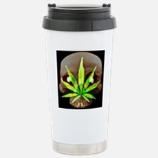 WeedSkull1bigger Travel Mug