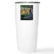 Seurat Thermos Mug