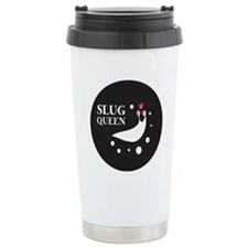 Slug Queen Logo Travel Mug