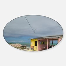 Providenciales Island Sticker (Oval)