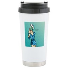 Alter Ego Shower Curtai Travel Mug