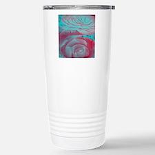 Unique Rose Design Travel Mug
