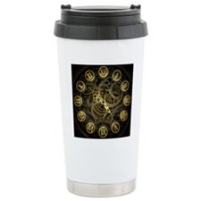clock watch Travel Mug