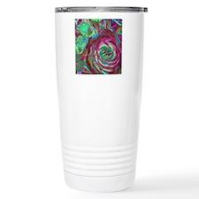 Beautiful Rose Travel Mug