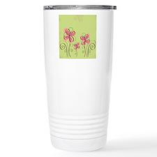 flowerpink Travel Mug