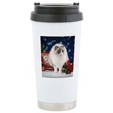 Ragdoll Cat Ornament Travel Mug