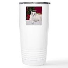 Ragdoll Cat Snowflake O Travel Mug