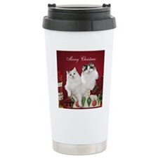 Ragdoll Cat Coaster Travel Mug