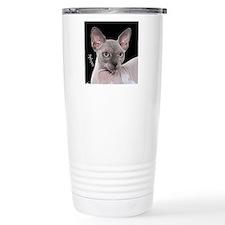 Sphynx Cat Ornament Travel Mug