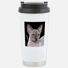 Sphynx Cat Ornament Travel Mug